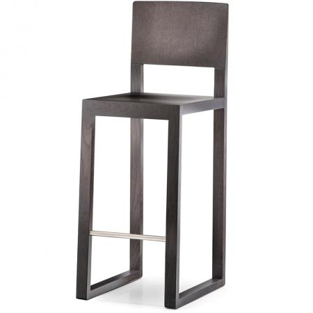 Sada 2 barových židlí Brera 382 wenge, Pedrali