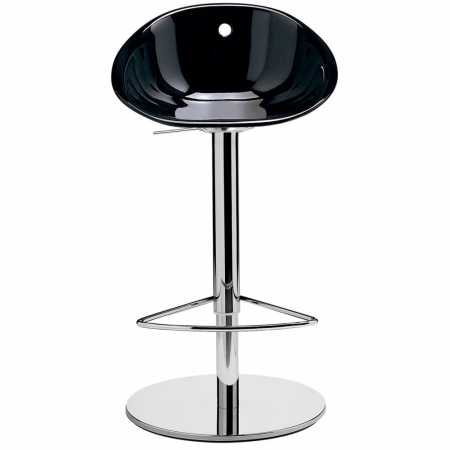 Sada 2 barových židlí Gliss 970 černá, Pedrali