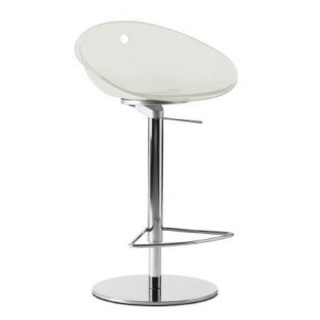 Sada 2 barových židlí Gliss 970 bílá, Pedrali
