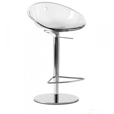 Sada 2 barových židlí Gliss 970 čirá, Pedrali