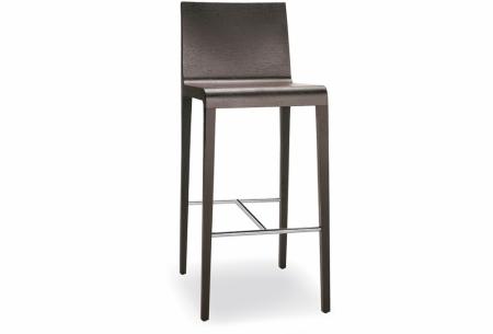 Sada 2 barových židlí Young 426 wenge, Pedrali