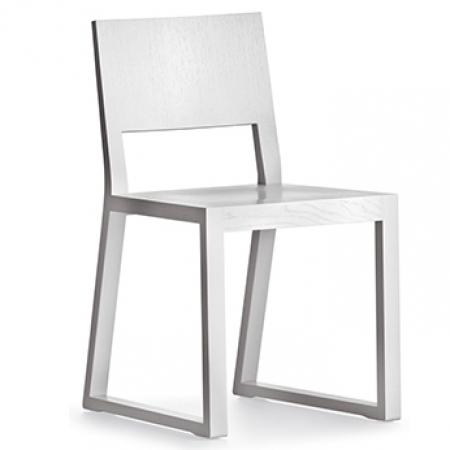 Sada 2 židlí Feel 450 bílý lak, Pedrali