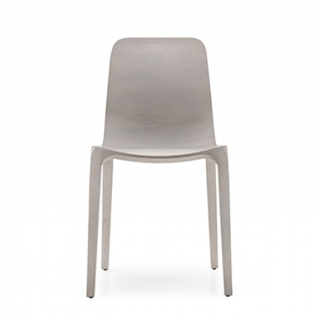 Sada 2 židlí Frida 752 světle šedý dub, Pedrali