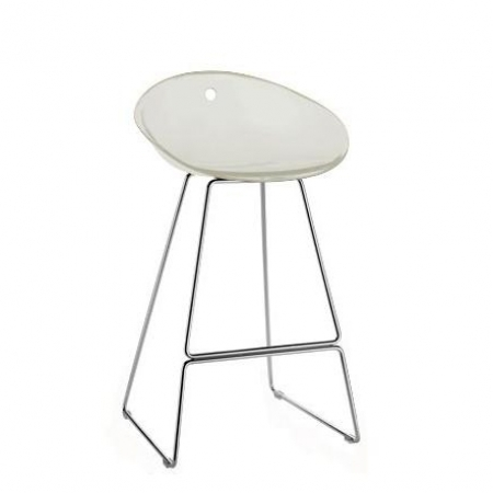 Sada 4 barových židlí Gliss 902 bílá, Pedrali