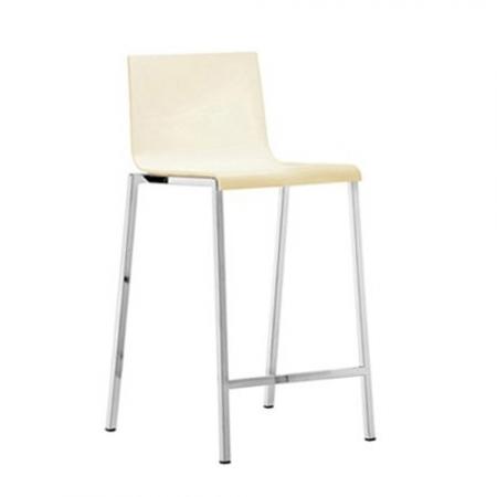 Sada 4 barových židlí Kuadra 1102 slonová kost, Pedrali