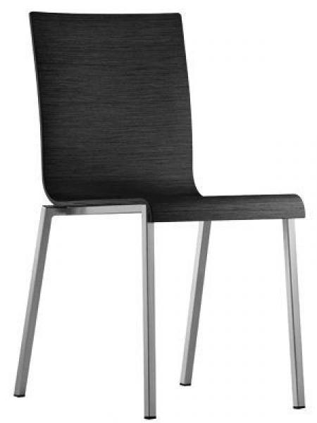 Sada 4 židlí Kuadra 1321 černá, Pedrali