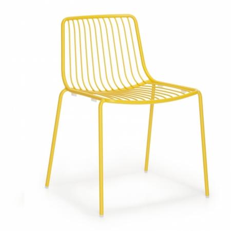 Sada 4 židlí Nolita 3650 žlutá, Pedrali