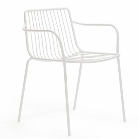 Sada 4 židlí Nolita 3655 bílá, Pedrali