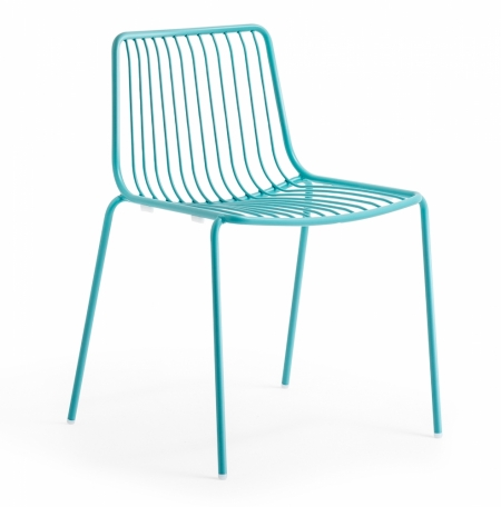 Sada 4 židlí Nolita 3650 azurová, Pedrali