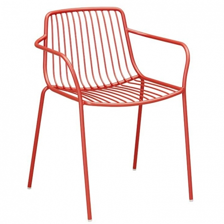 Sada 4 židlí Nolita 3655 červená, Pedrali