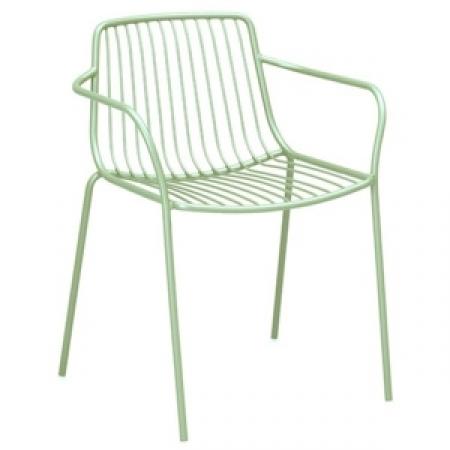 Sada 4 židlí Nolita 3655 světle zelená, Pedrali