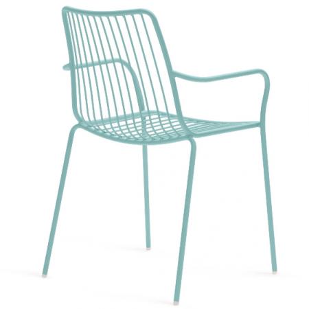 Sada 4 židlí Nolita 3655 azurová, Pedrali
