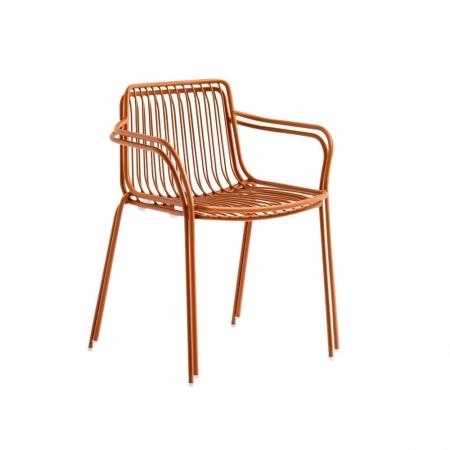 Sada 4 židlí Nolita 3655 cihlová, Pedrali