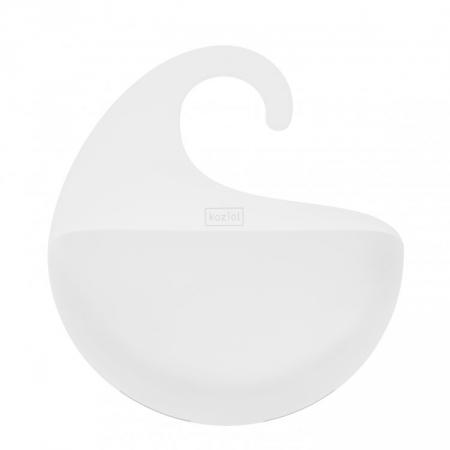 Sada koupelnových držáků Surf bílá, Koziol