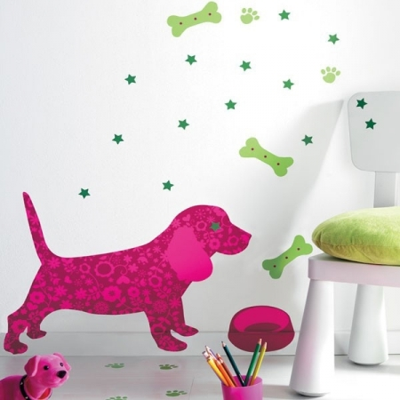 Samolepky Dog, Caselio