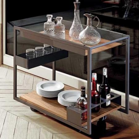 Servírovací stolek Mojito Wood, Cattelan Italia