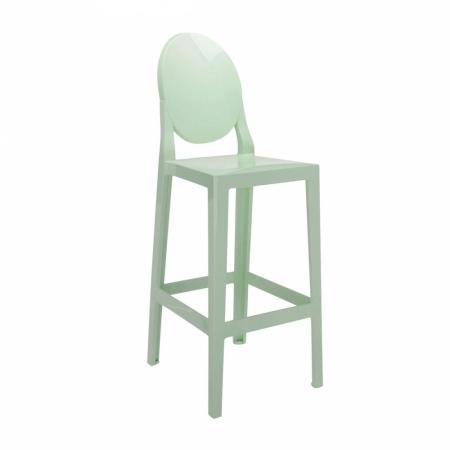 Set 2 barových židlí One More zelená, Kartell