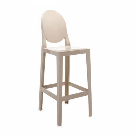 Set 2 barových židlí One More písková, Kartell