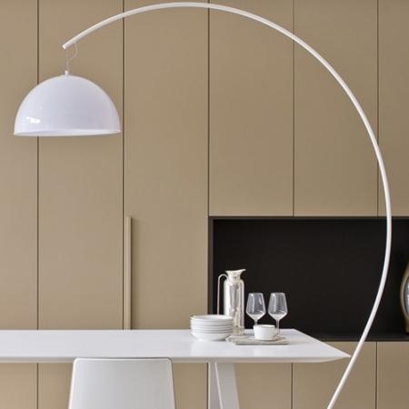 Stojací lampa L002T bílá, Pedrali