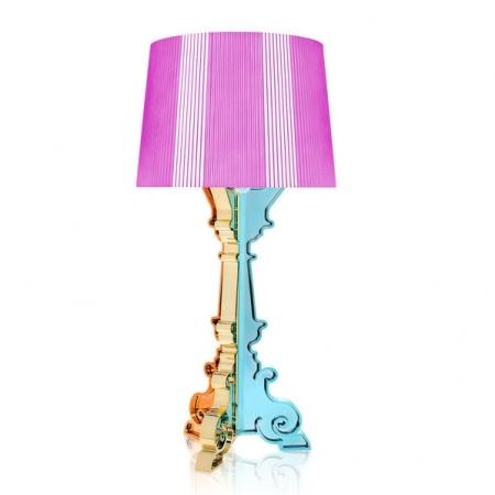 Stolní lampa Bourgie vicebarevná růžová, Kartell