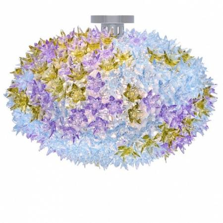 Stropní svítidlo Bloom levandulové, Kartell