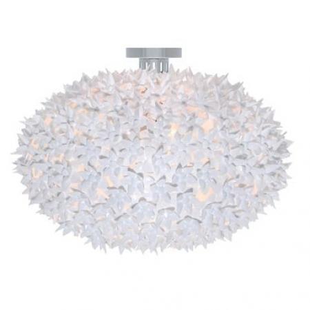 Stropní/nástěnné svítidlo Bloom bílé, Kartell