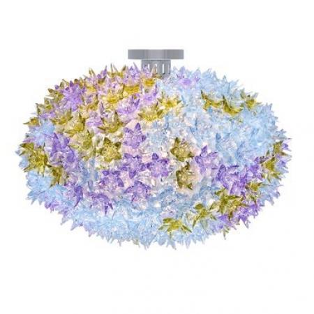 Stropní/nástěnné svítidlo Bloom levandulové, Kartell