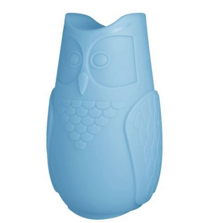 Svíticí sovička BuBo modrá, SLIDE Design