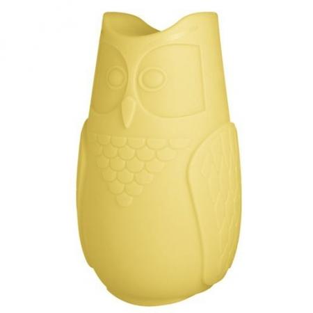 Svíticí sovička BuBo žlutá, SLIDE Design