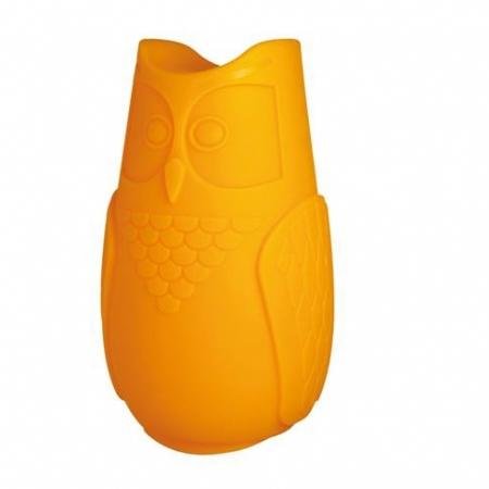 Svíticí sovička BuBo oranžová, SLIDE Design