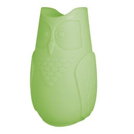Svíticí sovička BuBo zelená, SLIDE Design