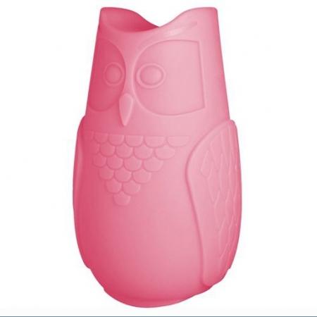Svíticí sovička BuBo růžová, SLIDE Design