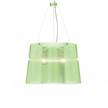 Závěsná svítidla Gé transparentní zelené, Kartell