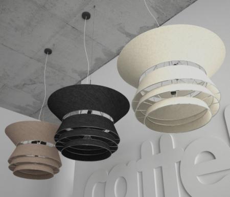 Závěsné osvětlení Bolero hnědá, Cattelan Italia